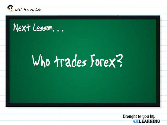 Who trades Forex