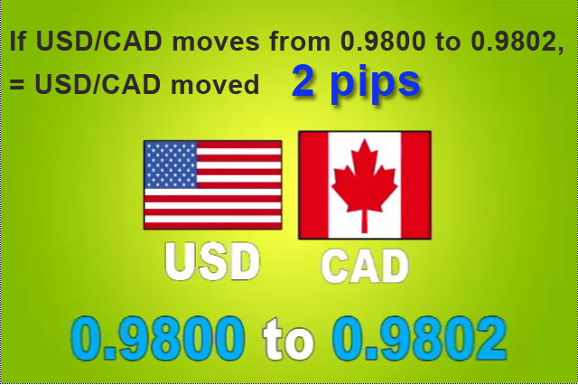USD/CAD moved 2 pips from 0.9800 to 0.9802