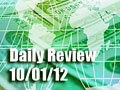 Daily Forex Market Review 10/01/12 (+62.5 pips)