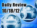 Daily Forex Market Review 10/18/12 (+15 pips)
