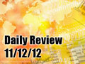 Daily Forex Market Review 11/12/12 (+20 pips)