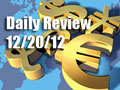 Daily Forex Market Review 12/20/12 (+30 pips)