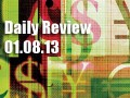 Daily Forex Market Review 01/08/13 (+25 pips)
