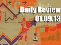 Daily Forex Market Review 01/09/13 (+120 pips)