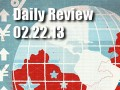 Daily Forex Market Review 02/22/13 (+122.5 pips)
