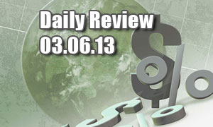 Daily Forex Market Review 03/06/13 (+57 pips)