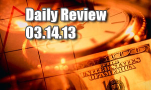Daily Forex Market Review 03/14/13 (+30 pips)