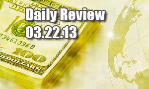 Daily Forex Market Review 03/22/13 (+70 pips)