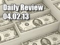 Daily Forex Market Review 04/02/13 (+92.5 pips)
