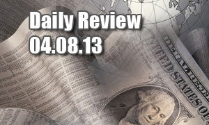 Daily Forex Market Review 04/08/13 (+45 pips)
