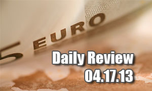 Daily Forex Market Review 04/23/13 (+80 pips)