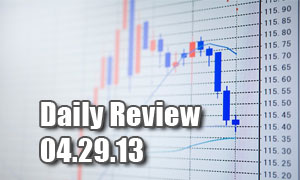 Daily Forex Market Review 04/29/13 (+120 pips)