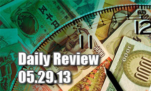 Daily Forex Market Review 05/29/13 (+125 pips)