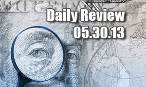 Daily Forex Market Review 05/30/13 (+30 pips)