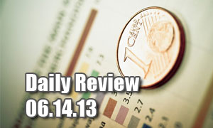 Daily Forex Market Review 06/14/13 (+160 pips)