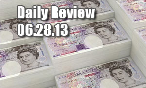 Daily Forex Market Review 06/28/13 (+35 pips)