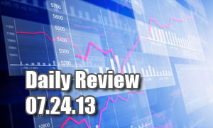 Daily Forex Market Review 07/24/13 (+50 pips)