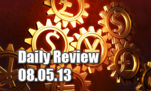 Daily Forex Market Review 08/05/13 (+40 pips)