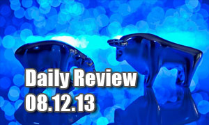 Daily Forex Market Review 08/12/13 (+35 pips)