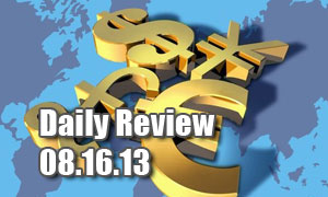 Daily Forex Market Review 08/16/13 (+50 pips)