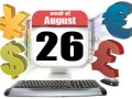 Fundamental Analysis Review And Forex Calendar For August 26 ~ 30, 2013