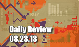 Daily Forex Market Review 08/23/13 (+35 pips)