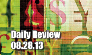 Daily Forex Market Review 08/28/13 (+73 pips)