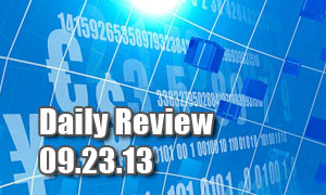 Daily Forex Market Review 09/23/13 (+30 pips)