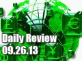 Daily Forex Market Review 09/26/13 (+40 pips)