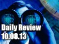 Daily Forex Market Review 10/08/13 (+60 pips)