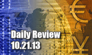 Daily Forex Market Review 10/21/13 (+40 pips)