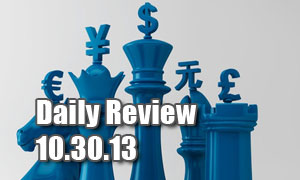 Daily Forex Market Review 10/30/13 (+17 pips)
