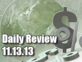 Daily Forex Market Review 11/13/13 (+47 pips)