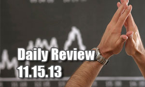 Daily Forex Market Review 11/05/13 (+25 pips)
