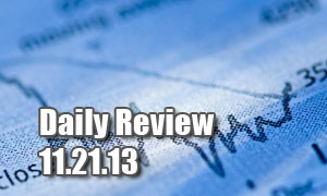 Daily Forex Market Review 11/21/13 (+52.5 pips)