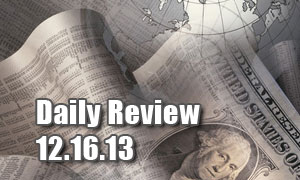 Daily Forex Market Review 12/16/13 (+52 pips)