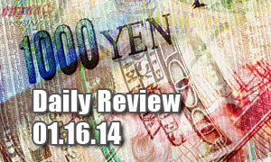 Daily Forex Market Review 01/16/14 (+30 pips)