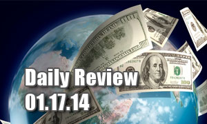 Daily Forex Market Review 01/17/14 (+80 pips)