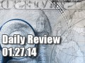 Daily Forex Market Review 01/27/14 (+50 pips)