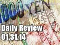 Daily Forex Market Review 01/31/14 (+35 pips)