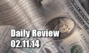 Daily Forex Market Review 02/11/14 (+53 pips)