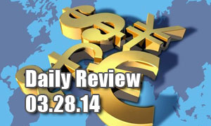 Daily Forex Market Review 03/28/14 (+50 pips)