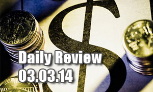 Daily Forex Market Review 03/03/14 (+50 pips)