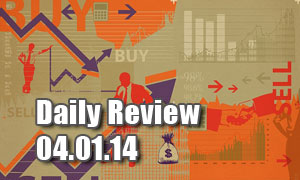 Daily Forex Market Review 04/01/14 (+30 pips)