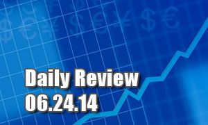 Daily Forex Market Review 06/24/14 (+40 pips)