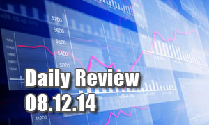 Daily Forex Market Review 08/12/14 (+27 pips)