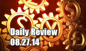 Daily Forex Market Review 08/27/14 (+25 pips)