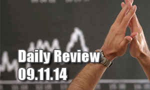 Daily Forex Market Review 09/11/14 (+65 pips)