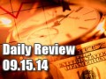 Daily Forex Market Review 09/15/14 (+60 pips)