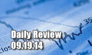 Daily Forex Market Review 09/19/14 (+45 pips)
